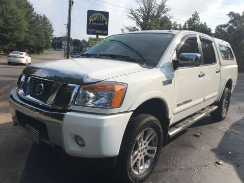 2015 Nissan Titan for sale at Scotty's Auto Sales, Inc. in Elkin NC
