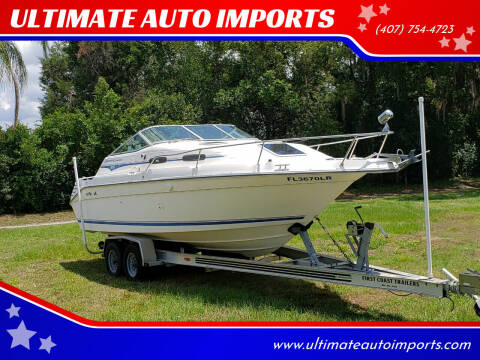 1993 Sea Ray Express Cruiser for sale at ULTIMATE AUTO IMPORTS in Longwood FL