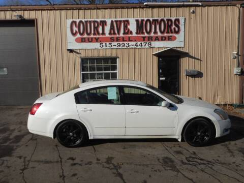 2004 Nissan Maxima for sale at Court Avenue Motors in Adel IA