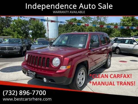 2011 Jeep Patriot for sale at Independence Auto Sale in Bordentown NJ