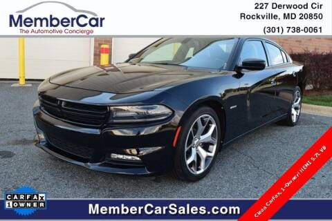 2016 Dodge Charger for sale at MemberCar in Rockville MD