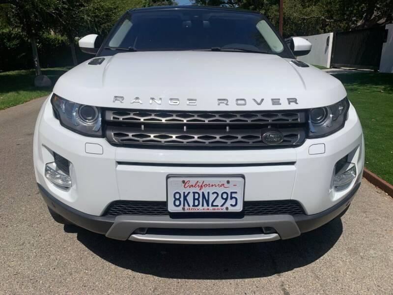 2014 Land Rover Range Rover Evoque Coupe for sale at Car Lanes LA in Valley Village CA