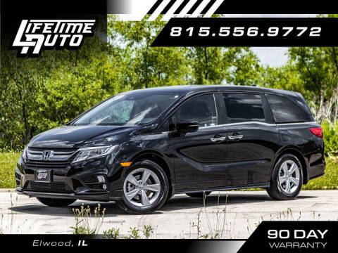 2019 Honda Odyssey for sale at Lifetime Auto in Elwood IL