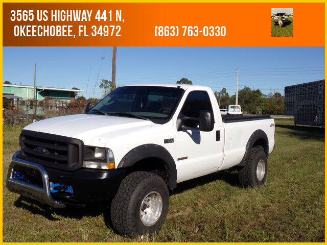 2004 Ford F-350 Super Duty for sale at M & M AUTO BROKERS INC in Okeechobee FL