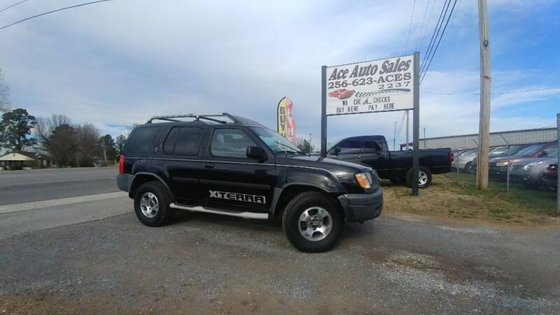 2001 Nissan Xterra for sale at Ace Auto Sales - Vehicles for Parts in Fyffe AL