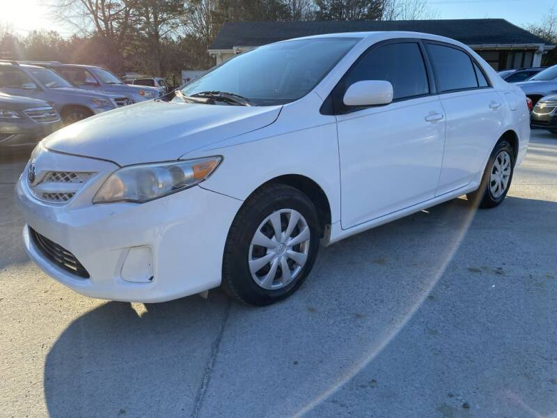 2011 Toyota Corolla for sale at Auto Class in Alabaster AL