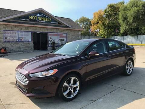 2013 Ford Fusion for sale at HotWheelz Auto Group in Detroit MI