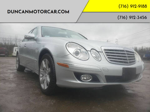 2007 Mercedes-Benz E-Class for sale at DuncanMotorcar.com in Buffalo NY