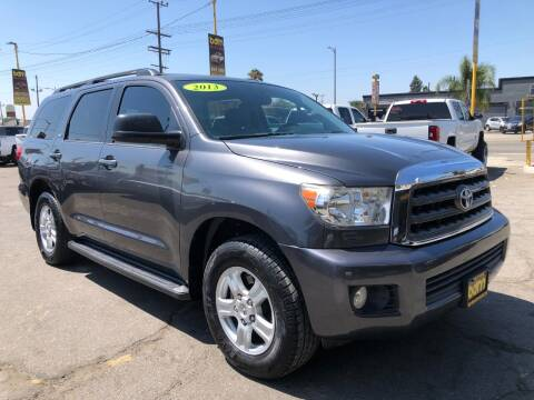 2013 Toyota Sequoia for sale at BEST DEAL MOTORS  INC. CARS AND TRUCKS FOR SALE in Sun Valley CA