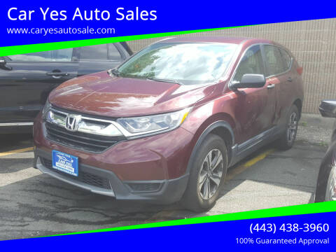 2017 Honda CR-V for sale at Car Yes Auto Sales in Baltimore MD