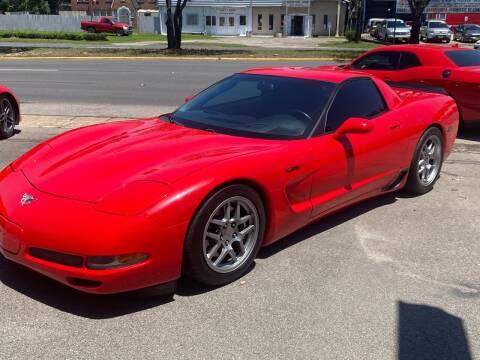 2003 Chevrolet Corvette for sale at Texas Luxury Auto in Houston TX