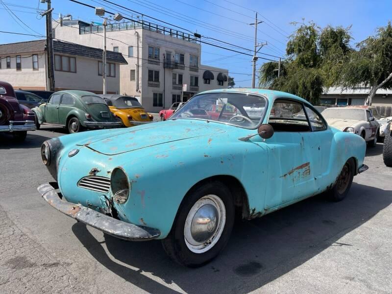 1960 Volkswagen Karmann Ghia for sale at Dodi Auto Sales in Monterey CA