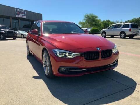 2016 BMW 3 Series for sale at KIAN MOTORS INC in Plano TX
