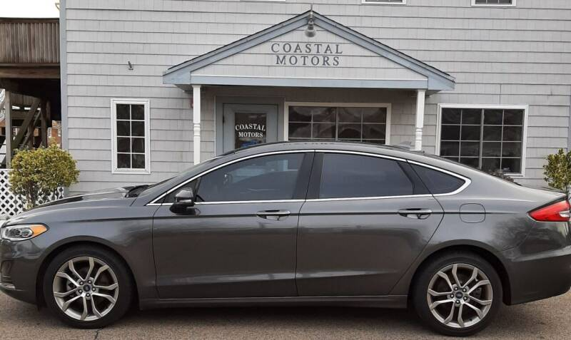 2019 Ford Fusion for sale at Coastal Motors in Buzzards Bay MA