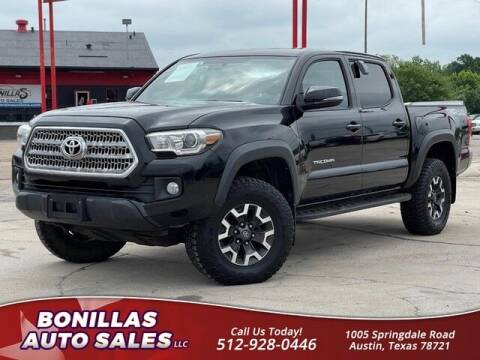 2016 Toyota Tacoma for sale at Bonillas Auto Sales in Austin TX