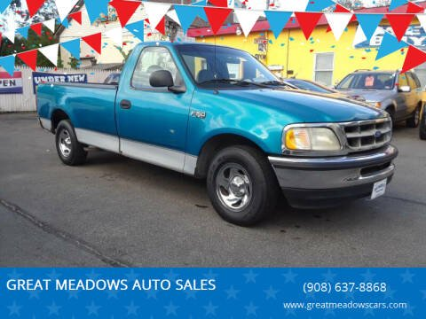 1997 Ford F-150 for sale at GREAT MEADOWS AUTO SALES in Great Meadows NJ