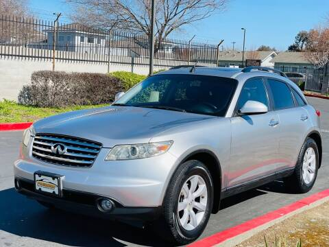 2004 Infiniti FX35 for sale at United Star Motors in Sacramento CA