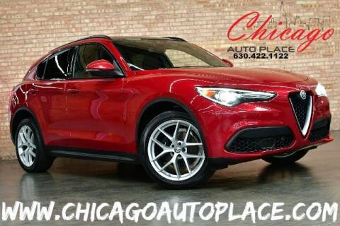 2018 Alfa Romeo Stelvio for sale at Chicago Auto Place in Bensenville IL