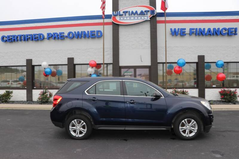 2015 Chevrolet Equinox for sale at Ultimate Auto Deals in Fort Wayne IN
