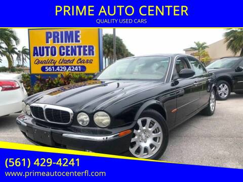 2004 Jaguar XJ-Series for sale at PRIME AUTO CENTER in Palm Springs FL