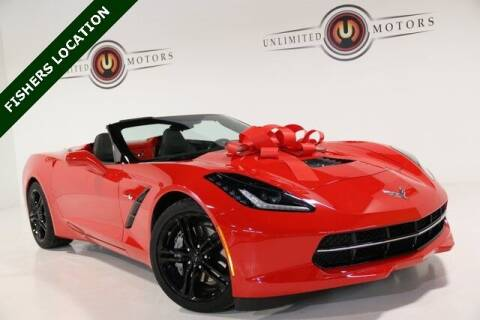 2014 Chevrolet Corvette for sale at Unlimited Motors in Fishers IN