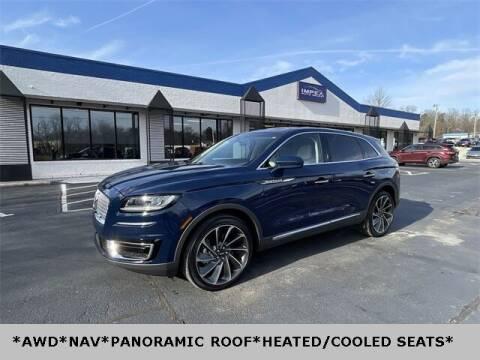 2019 Lincoln Nautilus for sale at Impex Auto Sales in Greensboro NC