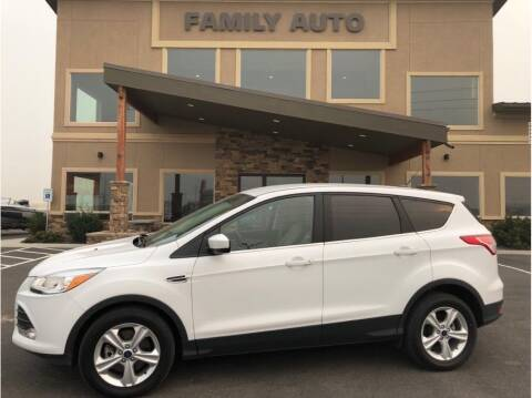 2014 Ford Escape for sale at Moses Lake Family Auto Center in Moses Lake WA