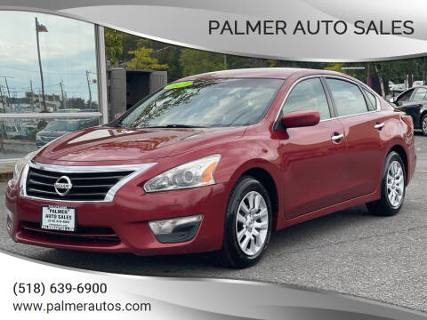 2013 Nissan Altima for sale at Palmer Auto Sales in Menands NY