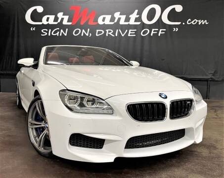 2013 BMW M6 for sale at CarMart OC in Costa Mesa CA