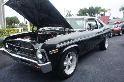 1969 Chevrolet Nova for sale at Dream Machines USA in Lantana FL