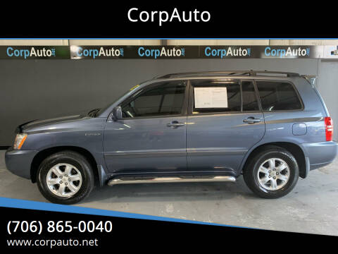 2003 Toyota Highlander for sale at CorpAuto in Cleveland GA