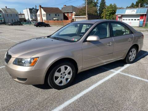 2007 Hyundai Sonata for sale at On The Circuit Cars & Trucks in York PA