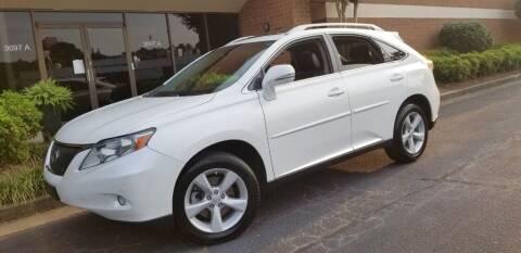2012 Lexus RX 350 for sale at RPM Exotic Cars in Atlanta GA
