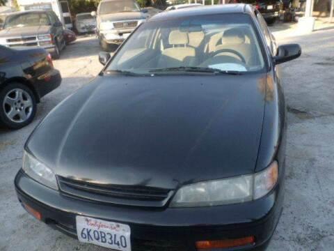 1994 Honda Accord for sale at AJ'S Auto Sale Inc in San Bernardino CA