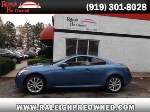 2011 Infiniti G37 Coupe for sale at Raleigh Pre-Owned in Raleigh NC
