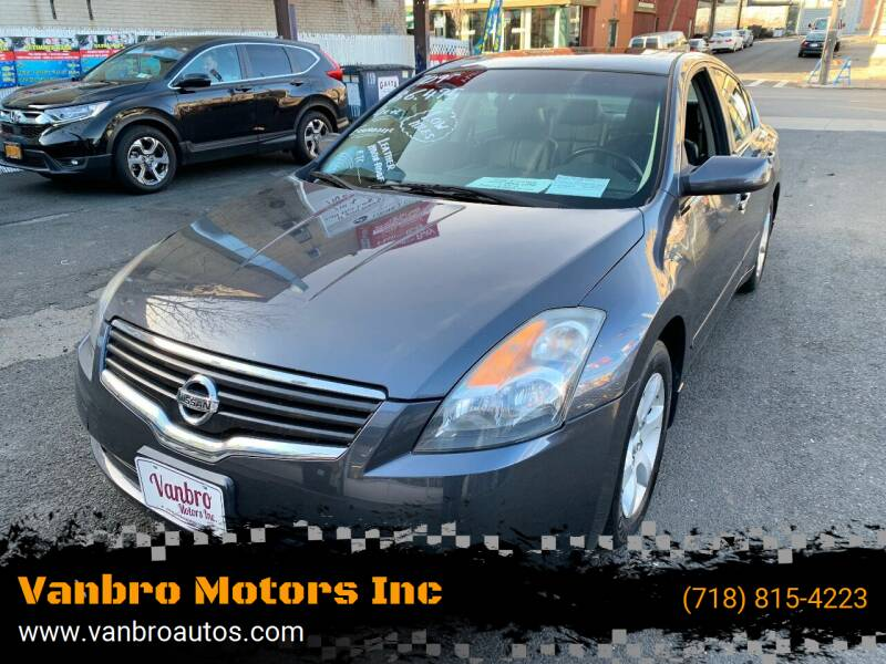 2009 Nissan Altima for sale at Vanbro Motors Inc in Staten Island NY