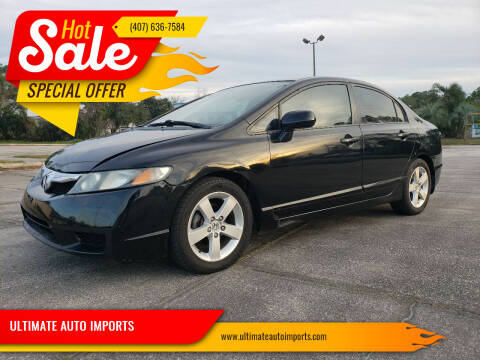 2010 Honda Civic for sale at ULTIMATE AUTO IMPORTS in Longwood FL