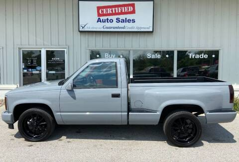 1990 GMC Sierra 1500 for sale at Certified Auto Sales in Des Moines IA