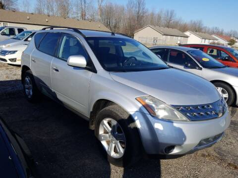 2007 Nissan Murano for sale at David Shiveley in Mount Orab OH