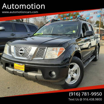 2007 Nissan Frontier for sale at Automotion in Roseville CA