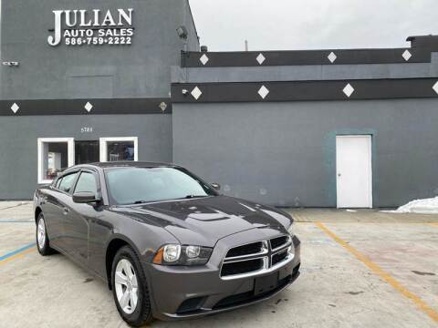 2014 Dodge Charger for sale at Julian Auto Sales, Inc. in Warren MI