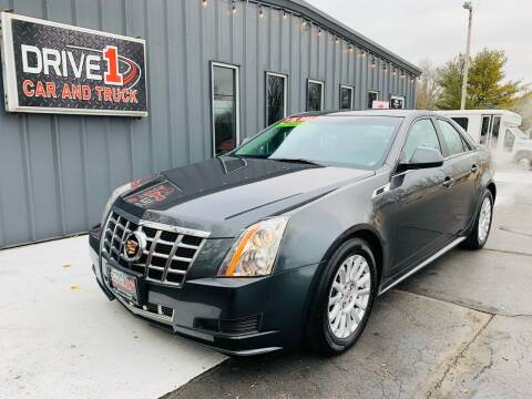 2013 Cadillac CTS for sale at Drive 1 Car & Truck in Springfield OH