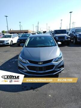 2018 Chevrolet Cruze for sale at COYLE GM - COYLE NISSAN - New Inventory in Clarksville IN