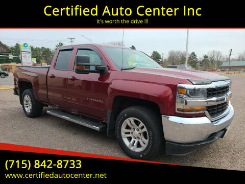 2016 Chevrolet Silverado 1500 for sale at Certified Auto Center Inc in Wausau WI