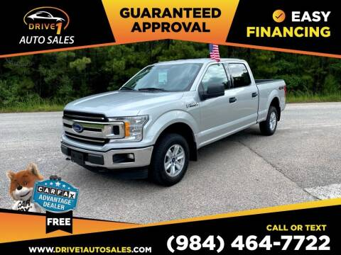 2018 Ford F-150 for sale at Drive 1 Auto Sales in Wake Forest NC