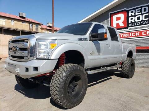 2015 Ford F-250 Super Duty for sale at Red Rock Auto Sales in Saint George UT