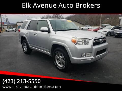 2011 Toyota 4Runner for sale at Elk Avenue Auto Brokers in Elizabethton TN