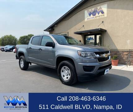 2018 Chevrolet Colorado for sale at Western Mountain Bus & Auto Sales in Nampa ID