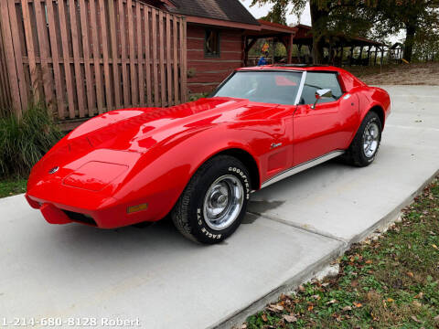 1976 Chevrolet Corvette for sale at Mr. Old Car in Dallas TX