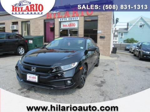 2019 Honda Civic for sale at Hilario's Auto Sales in Worcester MA